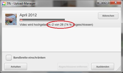 5% - Upload-Manager