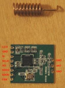 CC1101 868 Mhz Modul